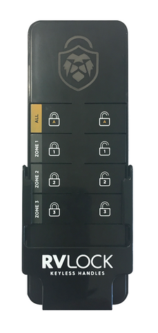 8 Button Master Interior Remote