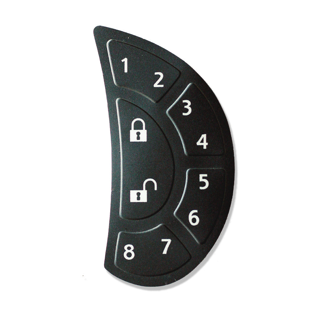 RVLock Keypad Replacement Membrane RH