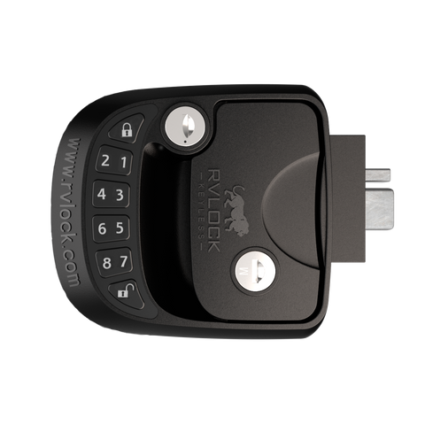 COMPACT LEFT HAND RVLock Keyless Entry Handle