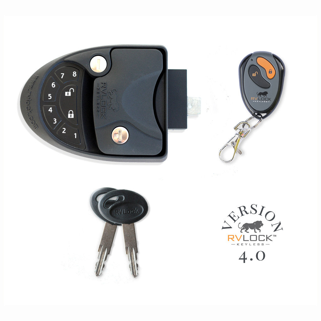 RVLock V4.0 - LEFT Hand W/ Integrated Keypad for RV's