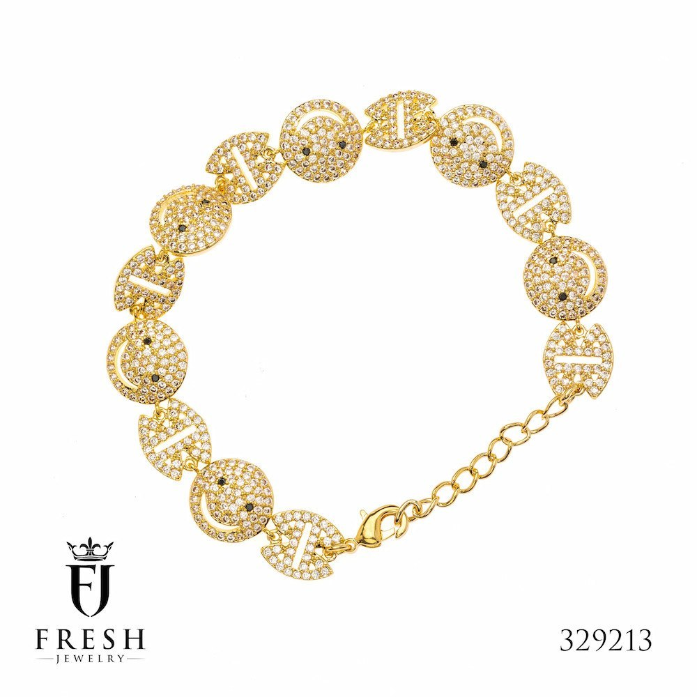 jewelry fresh hanny freshjewelryshop plated bracelet plate gold products