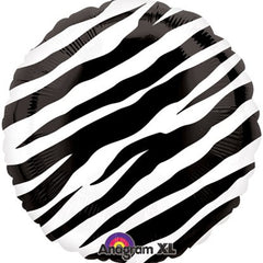 Black Zebra Foil Balloon
