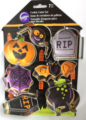 Wilton Halloween Cookie Cutter 7 pce set