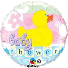 Duck Baby Shower Foil Balloon
