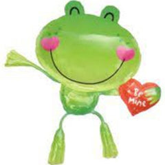 Frog Be Mine Supershape Foil Balloon