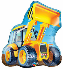 Construction Digger Supershape Foil Balloon