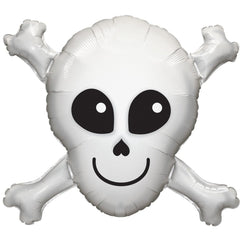 Skull & Crossbones Supershape Balloon