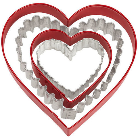 Wilton From the Heart Cookie Cutter Set