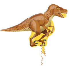 Dinosaur Raptor Supershape Foil Balloon
