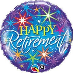 Happy Retirement Foil Balloon