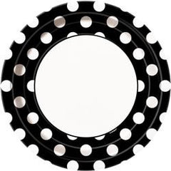Black Dot Large Plates