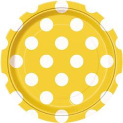 Yellow Dot Small Plates