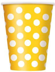Yellow Dot Cups
