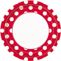 Red Dot Large Plates
