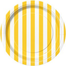 Yellow Stripe Small Plates