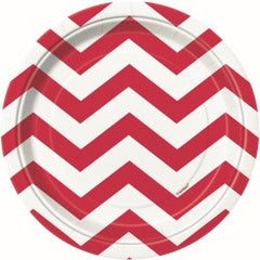 Red Chevron Small Plates