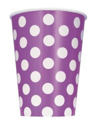 Purple Dot Cups