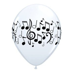 Music Notes Balloons