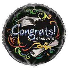 Graduation Blackboard Foil Balloon
