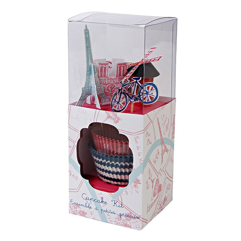 Paris Icons Boxed Cupcake Kit