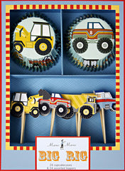 Big Rig Boxed Cupcake Kit