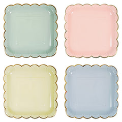 Toot Sweet Small Pastel Plates