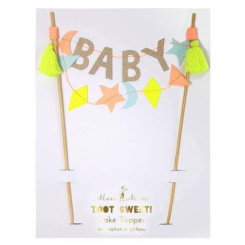 Baby Cake Flags