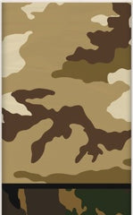 Camo Jungle Plastic Table Cover