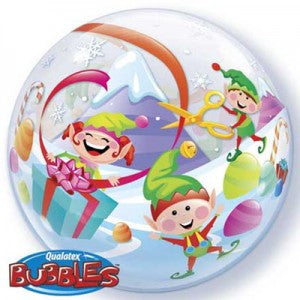 Christmas Elve Deco Bubble Balloon