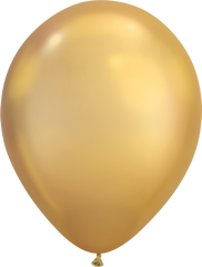 Chrome 11' Balloons Gold