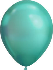 Chrome 11' Balloons Green