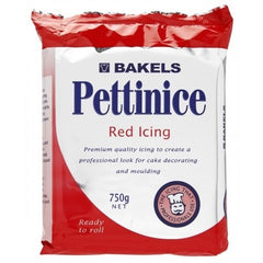 Bakels Red Fondant Icing