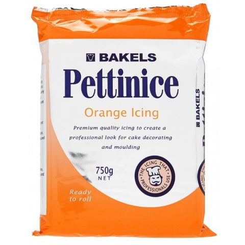 Bakels Orange Fondant Icing