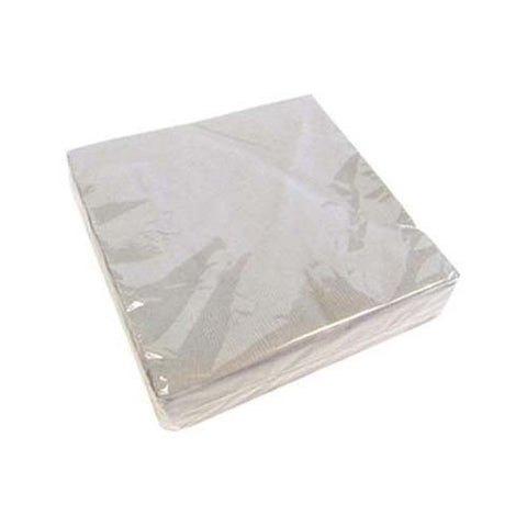 Silver Lunch Napkins