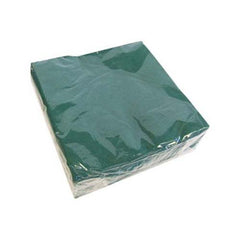 Forest Green Beverage Napkins