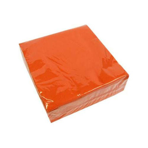 Orange Lunch Napkins