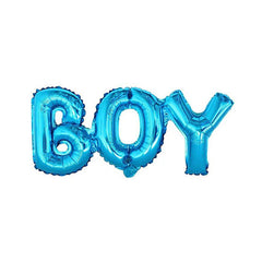 BOY Blue Foil Balloon