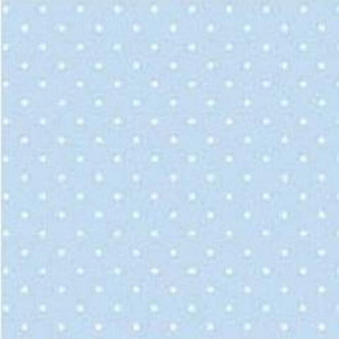Baby Blue Polka Dot Table Runner