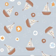 Baby Boy Boat Table Runner