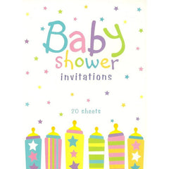 Baby Shower Invitation Pad