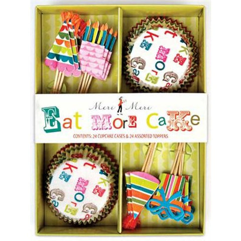 Eat More Cake Boxed Cupcake Kit