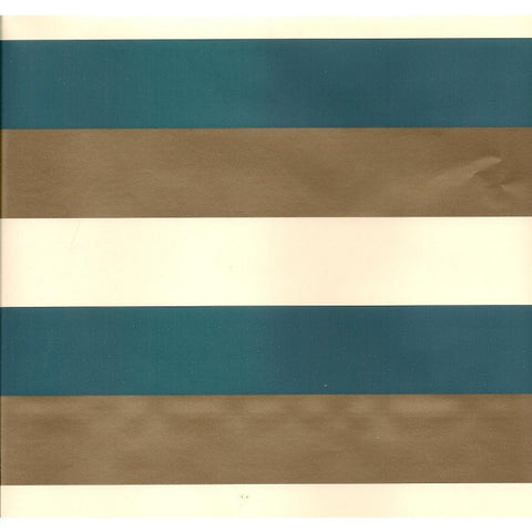 Blue & Brown Stripe Table Runner/Wrap