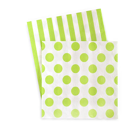 Cocktail Napkins Apple Green