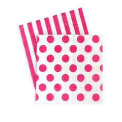 Cocktail Napkins Pop Pink