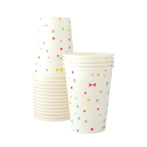 Paper Cups Summer Bows