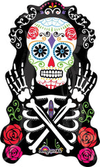 Day of the Dead Supershape Foil