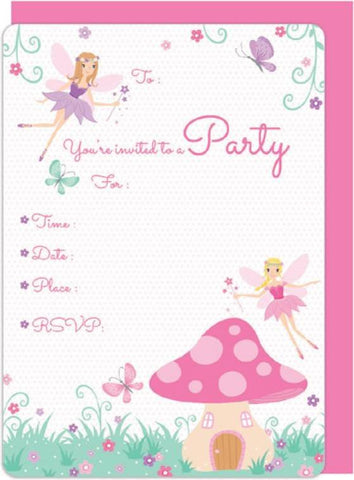 Fairy Garden Invitation Kit