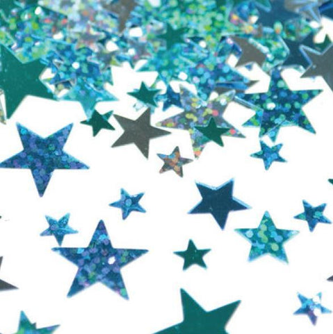 Blue Stars Table Scatters