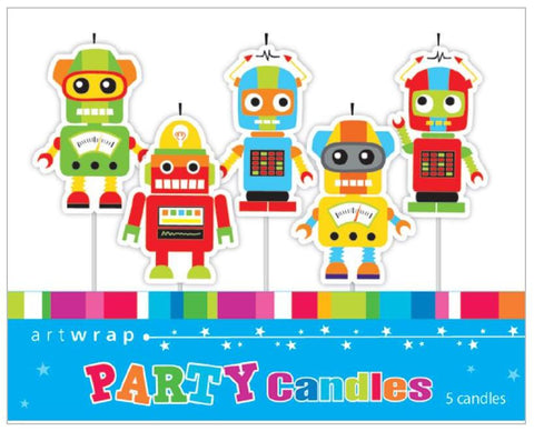Cheeky Robot Candles