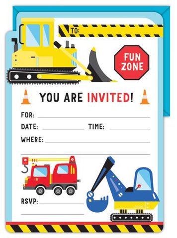 Construction Invitation Kit